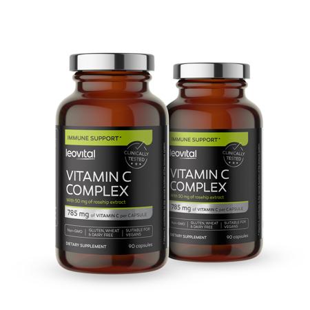Vitamin C Complex, 90 kapsula, -50% na drugi kupljeni
