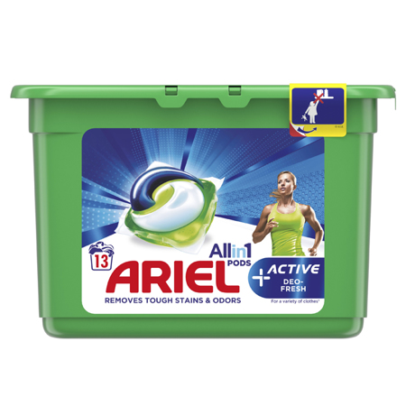 Ariel All-in-1 Pods, 13 kapsula