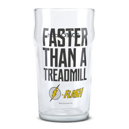 Staklena čaša, The Flash - Faster Than a Treadmill