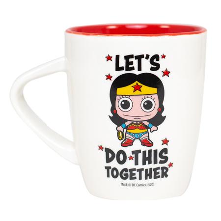 Hero Core Mug, Wonder Woman - Let's Do This