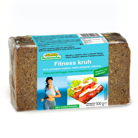 Fitness kruh, 500 g
