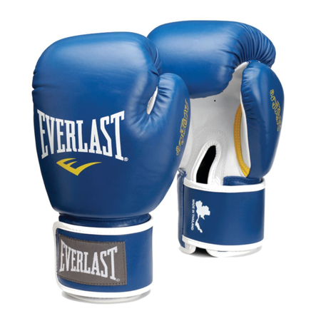 Muay Thai Pro Boxing Gloves, Blue