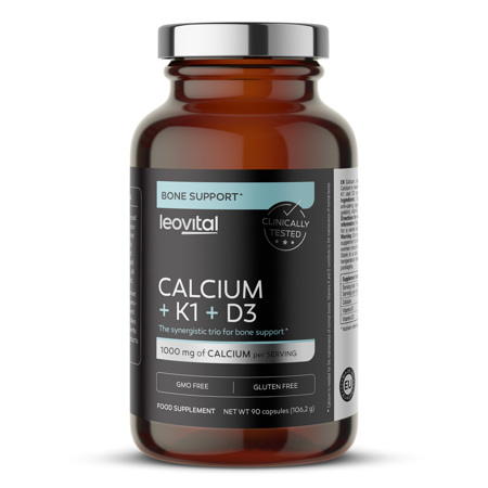 Calcium + K1 + D3, 90 kapsula