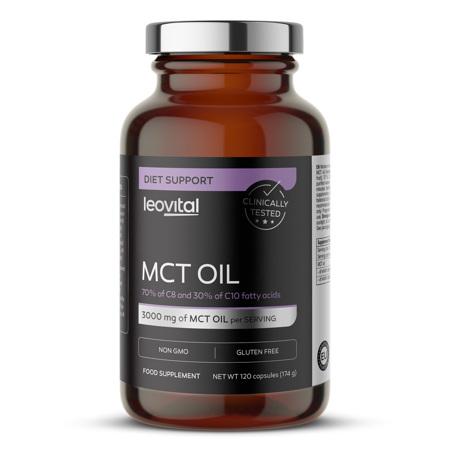 MCT Oil, 120 kapsula