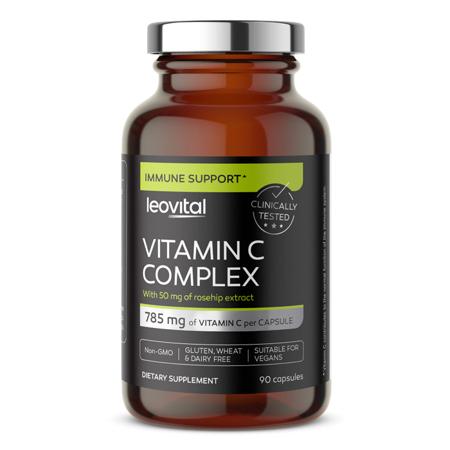 Vitamin C Complex, 90 kapsula
