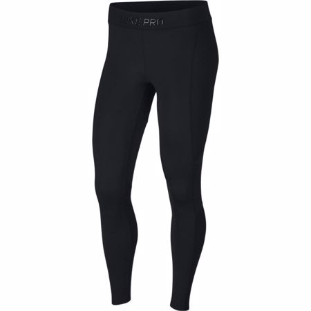 Nike Pro Warm Women's Training Tights, Black/Clear