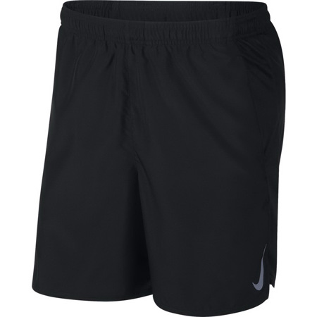 Nike Run Challenger 7In Shorts, Black/Reflect Silver