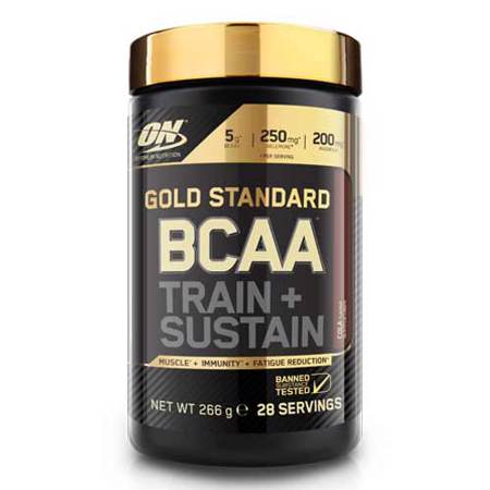 Gold Standard BCAA, Train + Sustain, 266 g