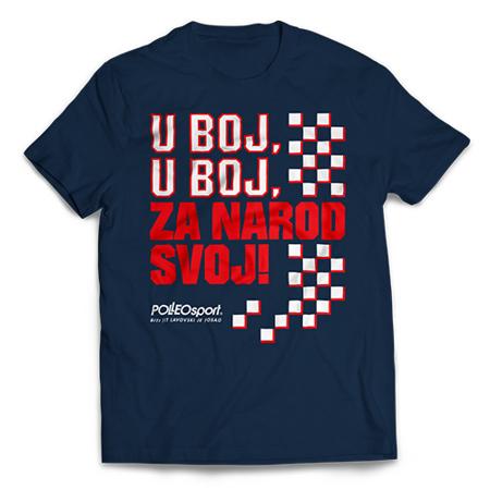 Majica CRO Polleo Sport, plava, muška