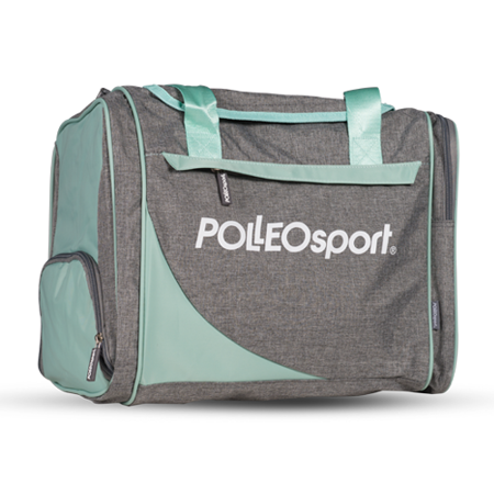 Polleo Sport Posh Workout Bag, Melange/Bay