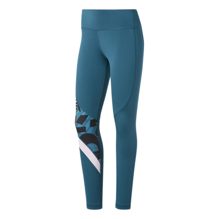 Reebok Meet You There Workout Leggings, Heritage Teal
