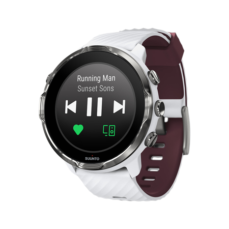 Suunto 7, White Burgundy