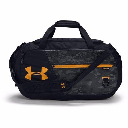 UA Undeniable 4.0 Medium Duffle Bag Black/Golden Yellow