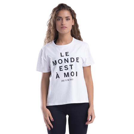 Le Monde T-shirt, White