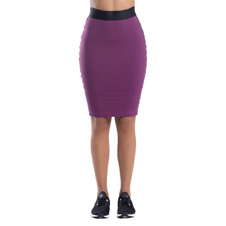 My Stripes Midi Skirt, Purple