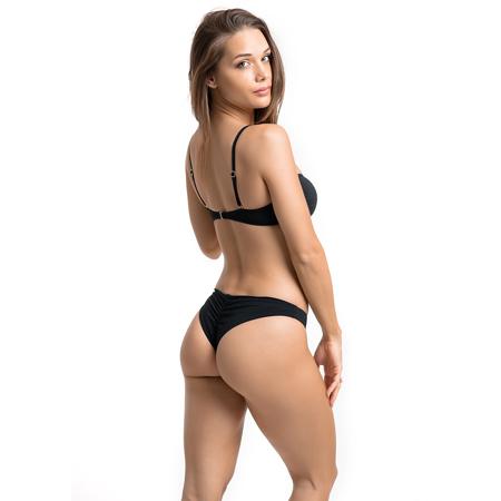 Wildcat Swim Briefs, Black