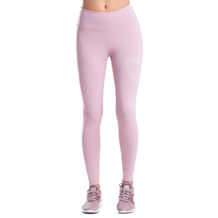 Heart Leggings, Ash Pink
