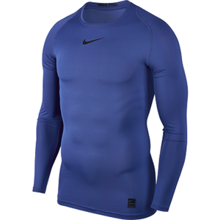 Nike Pro LS Compression Top, Game Royal/Black