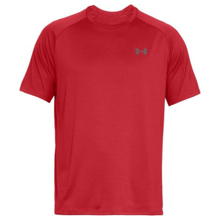 UA Tech 2.0 SS Shirt, Red/Graphite