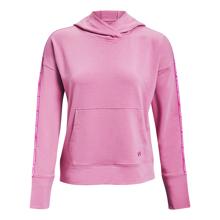 UA Rival Terry Taped Women's Hoodie, Planet Pink/Stellar Pink