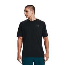 UA Training Vent Camo SS T-Shirt, Black/Pitch Grey