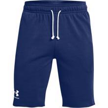 UA Rival Terry Shorts, Regal/Onyx White