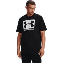UA ABC Camo Boxed Logo SS Shirt, Black