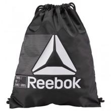 Reebok Drawstring Gymsack, Black