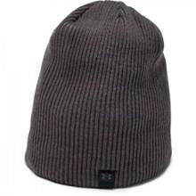 UA Cap 4-in-1 Beanie, Black/Charcoal