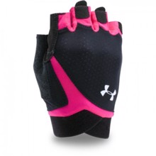 UA Women's CoolSwitch Flux Gloves, Black/Tropic Pink
