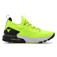 UA Project Rock 3 Training Shoes, Yellow/Black