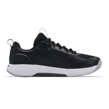 UA Charged Commit TR 3 Shoes, Black/White