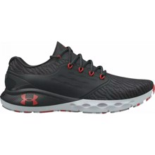 UA Charged Vantage Marble Shoes, Black/Red/Grey