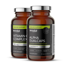 Alpha Dualcaps, 120 kapsula + Vitamin C Complex, 90 kapsula GRATIS
