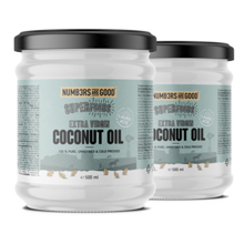 Organic Coconut Oil, Neutral taste, -50% na drugi kupljeni