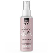 """Zoe """"Love my body"""" Körperöl zur Hautpflege und Dehnungsstreifenreduktion, 150 ml"""