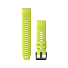 "Garmin Austauscharmband für Fenix 6, Silikon, Quick Fit 22"", Amp Yellow"