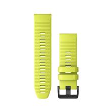 "Garmin Austauscharmband für Fenix 6, Silikon, Quick Fit 26"", Amp Yellow"