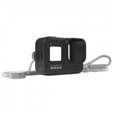 GoPro Sleeve + Lanyard, Black (HERO8)