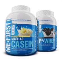 Micellar Casein, 2270 g + 1st Whey, 908 g GRATIS