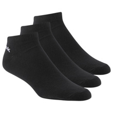 Reebok Ankle Sock, 3 Pack, Black