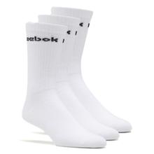 Reebok Core Ankle Active Socks (3 Pair), White
