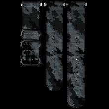 Suunto Ersatzband, 24 mm, Textil, Concrete/Black