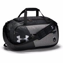 UA Undeniable 4.0 Medium Duffle Bag, Graphite/Black