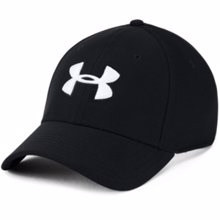 UA Blitzing 3.0 Fit Cap, Black/White