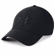 UA Blitzing 3.0 Fit Cap, Black/Black