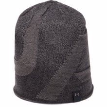 UA Cap 4-in-1 Beanie, Black/Charcoal