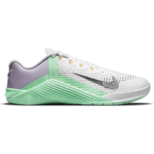 Nike Metcon 6 Women's Training Shoe, White/Smoke Grey/Lilac