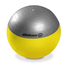 Žoga za pilates s črpalko, 65 cm