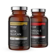Beta Glucan, 90 kapsula + Omega 3, 90 kapsula GRATIS